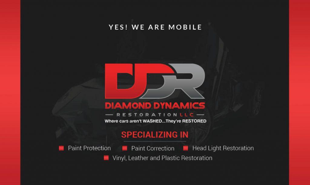 Diamond Dynamics Restoration Business Card Back