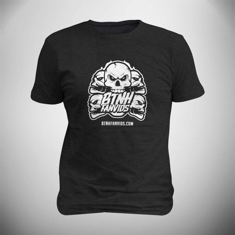 BTNHFanvids White Logo T-Shirt