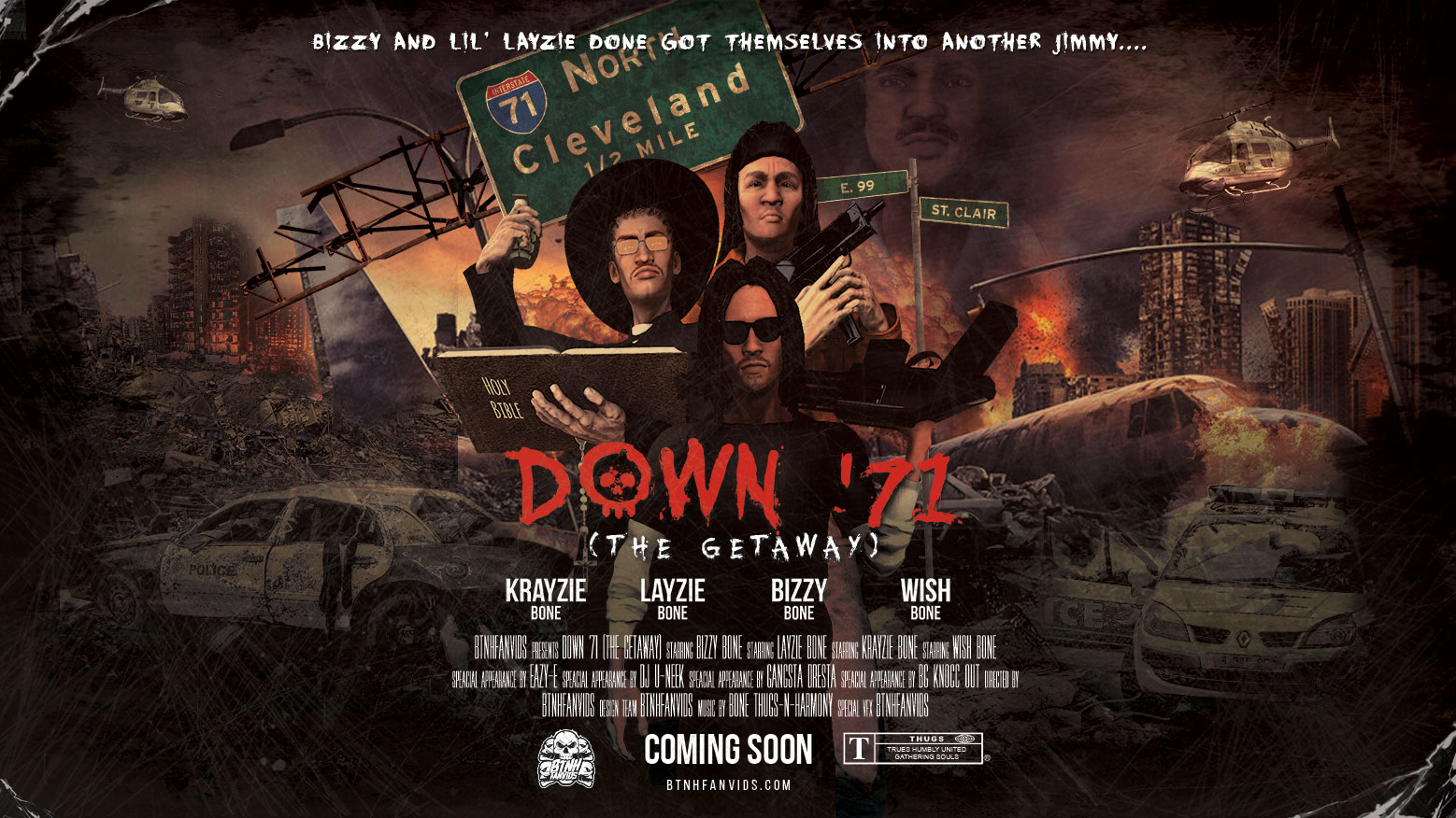 BTNHFanvids Down '71 (The Getaway) Poster