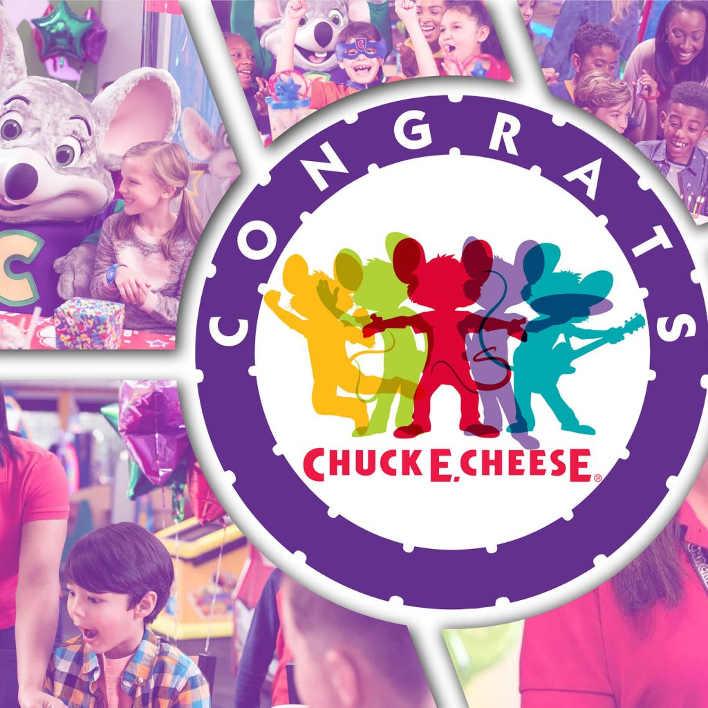 Chuck E. Cheese Promotional Items