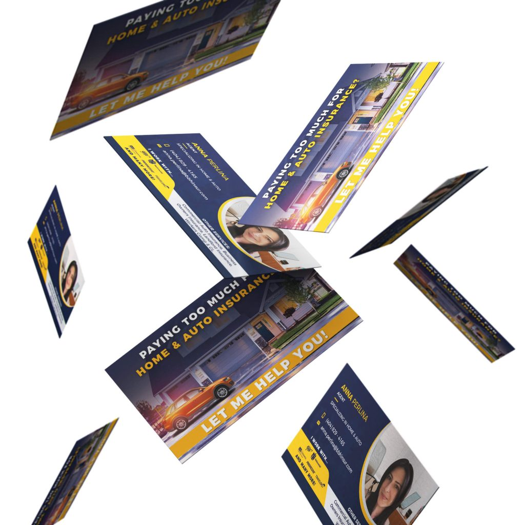 Realtor Social Media Posts and Business Cards