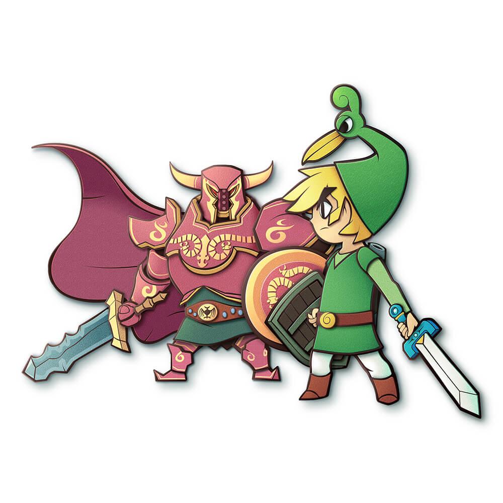 Legend of Zelda Illustration