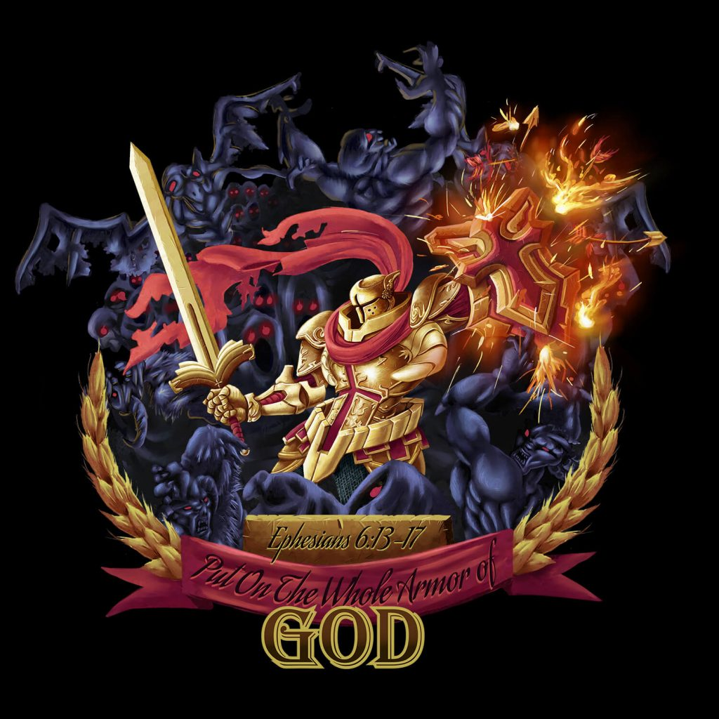 Armor of God Illustration