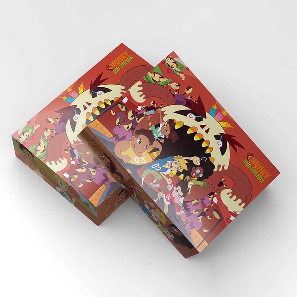 Chunky & Friends Gift Box Mockup