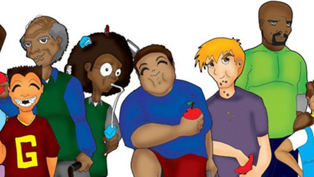 Chunky & Friends Original Illustration