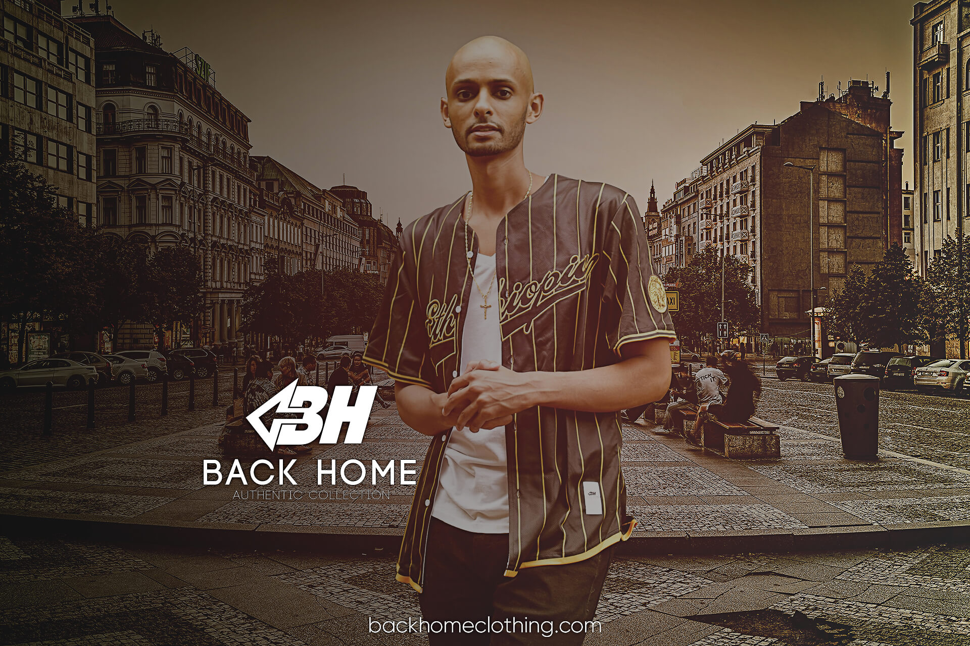 Back Home Clothing Ad