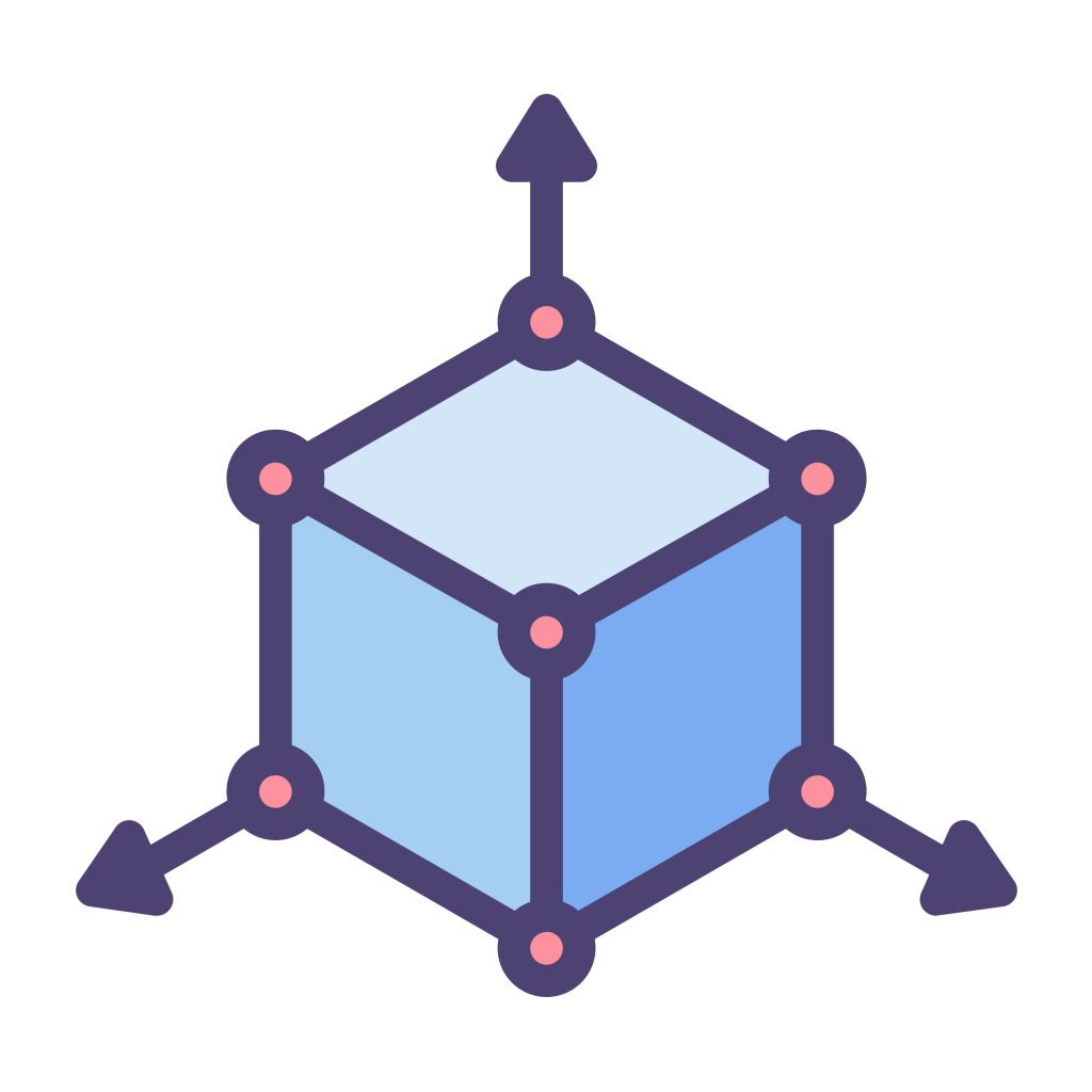 3D Modeling Icon