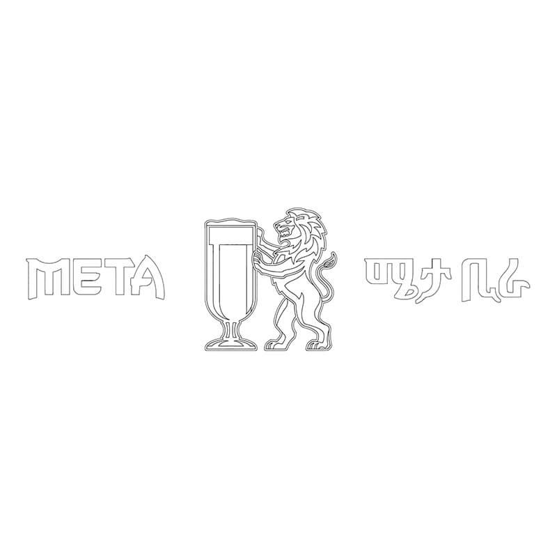 Meta Logo Vector Outline