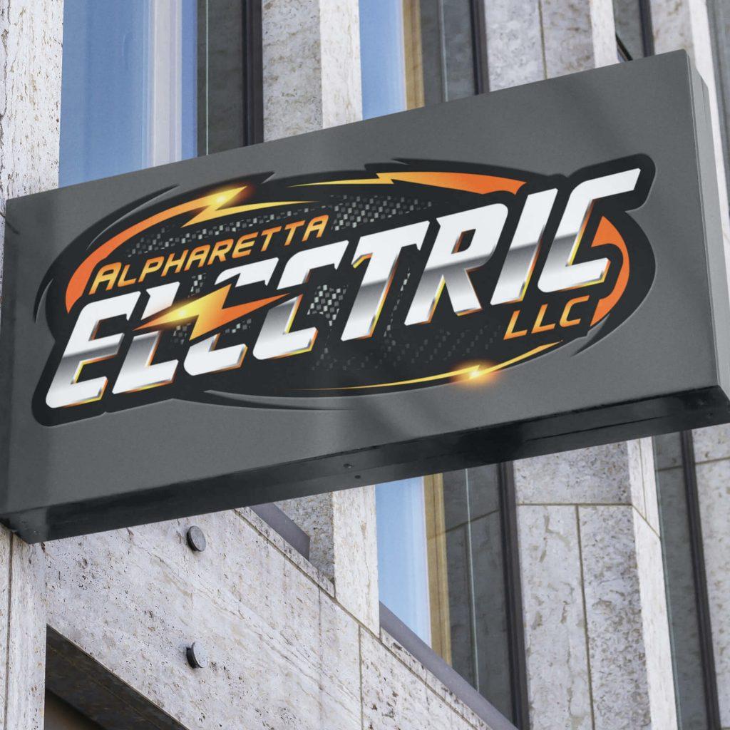 Alpharetta Electric Logo & Branding